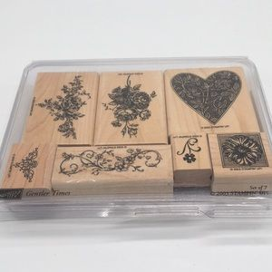 Stampin' Up! Gentler Times set of 7 Stamps